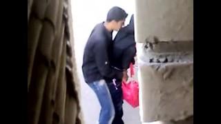 Flagra de casal mulçumano fodendo na rua   Porno Cafajeste