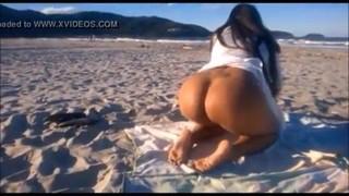 Rebeka Tavares Morena Linda Pelada Na Praia